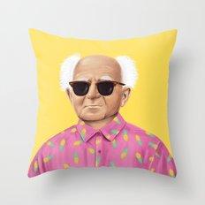 The Israeli Hipster leaders - David Ben Gurion Throw Pillow