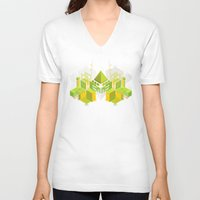 Temple of the Weeping Pyramid Unisex V-Neck