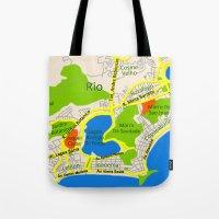 RIO Map Design - Brasil Tote Bag