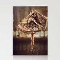 Dancerulean Stationery Cards