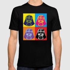 Darth Vader - Pop Art - Star Wars Mens Fitted Tee Black SMALL