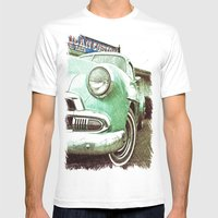 Chevrolet beauty Mens Fitted Tee White SMALL