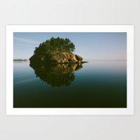 Matia Island, WA Art Print