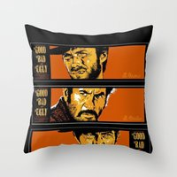 the good ,the bad , and the evil Throw Pillow