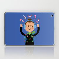 Holiday with Candy Laptop & iPad Skin