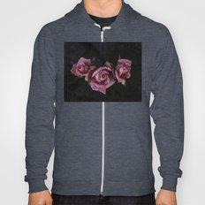 Pink Roses Vintage Hoody