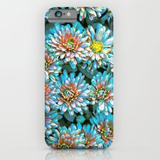 Van Gogh Blue Chrysanthemum iPhone 6 Slim Case