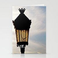 Happy Lamp Stationery Cards