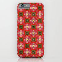 iPhone & iPod Case featuring Christmas Garden Pattern by Peter Gross
