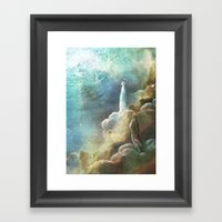 Glimpse Of Heaven Framed Art Print