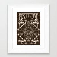 Best in the 'Verse Framed Art Print