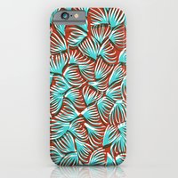 Hand Drawn and Digital Pattern Print iPhone 6 Slim Case