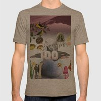 100 Mens Fitted Tee Tri-Coffee SMALL