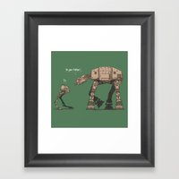 I'm Your Father Framed Art Print