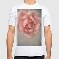 Romantic Rose Mens Fitted Tee Ash Grey SMALL