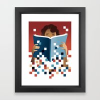 Print To Pixels Framed Art Print