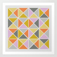 Hip Square Art Print