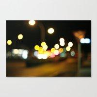 SUMMER LIGHTS Canvas Print