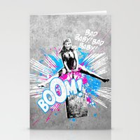 Girl Power Stationery Cards