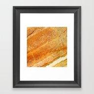 Gold Marble 1 Framed Art Print