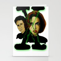 X-files 2 Stationery Cards