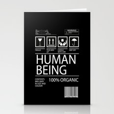 Human Food Stationery Cards