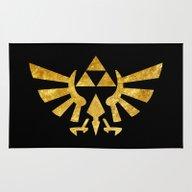 Zelda Golden Hylian Cres… Rug