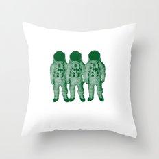 Astro Amigos Throw Pillow