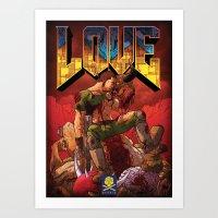 Doom Generation Art Print
