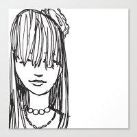 Monday Face... Canvas Print