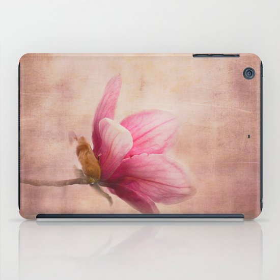 Pink Magnolia I - Flower Art iPad Case