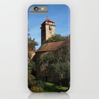 iPhone & iPod Case featuring Rothenburg ob der Tauber - Fortification by Rainer Steinke
