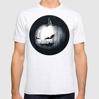 Keeping Up With Halloween Mens Fitted Tee Ash Grey SMALL