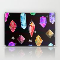 Crystals and Glitter Stars Laptop & iPad Skin