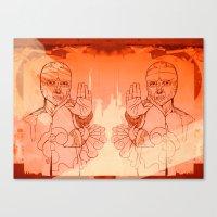 Santo Canvas Print