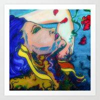 Vines Entwined Art Print