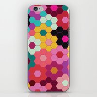 Honeycomb Blooms iPhone & iPod Skin