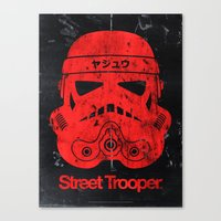 BEAST Street Trooper Hea… Canvas Print