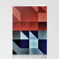 :: geometric maze IX :: Stationery Cards