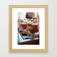 Drink it - Summer is Coming Framed Art Print