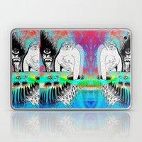 Giraffe Eyes in the Magnetic Field Laptop & iPad Skin