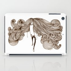 Big Hair Day iPad Case