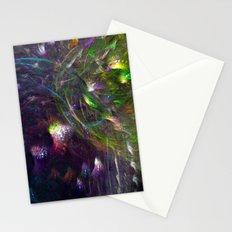 Black Peacocks Stationery Cards