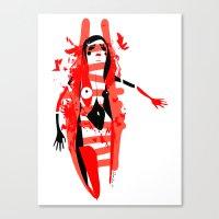 Run - Emilie Record Canvas Print
