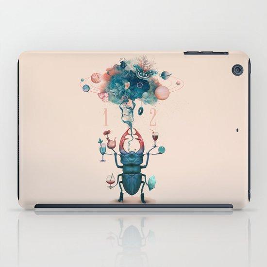 funny beetle iPad Case