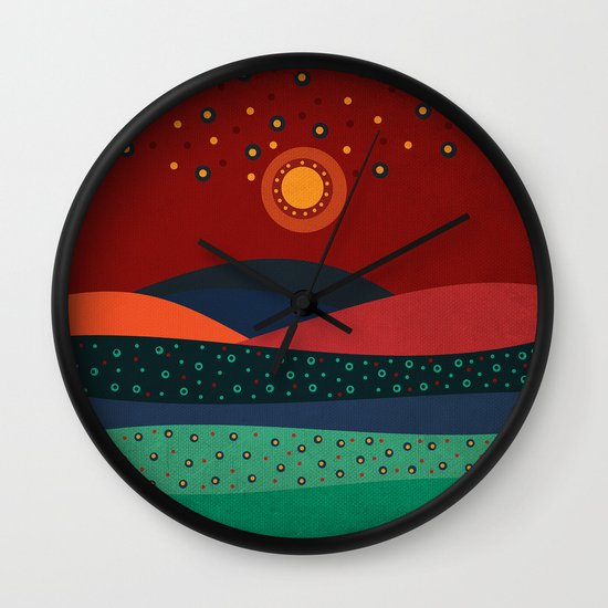 Textures/Abstract 140 Wall Clock