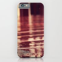 iPhone & iPod Case featuring Rain Drops by hcase