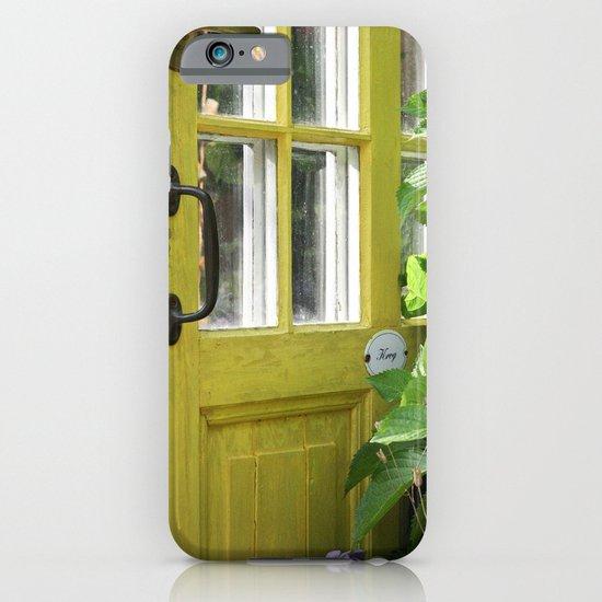Kitchen door iPhone & iPod Case