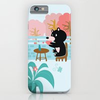 Drink a cup of coffee iPhone 6 Slim Case