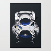 Cafe Galactica Canvas Print